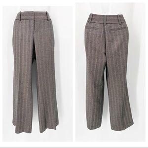 Ann Taylor LOFT JULIE Herringbone Pattern Trouser
